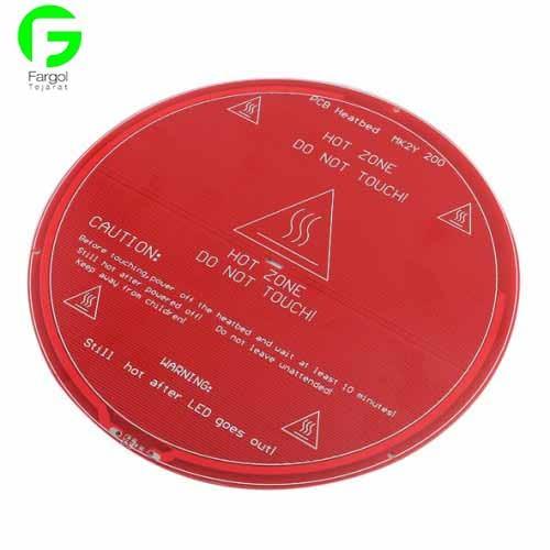 خرید و فروش پرینتر سه بعدی :فرگل سی ان سی Delta-Heat هیت بد پرینترهای سه بعدی دلتا