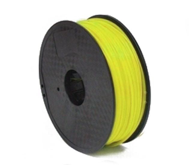 خرید و فروش پرینتر سه بعدی :فرگل سی ان سی فیلامنت-زرد-PLA فیلامنت زرد فلورسنت PLA