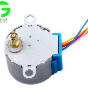 خرید و فروش پرینتر سه بعدی :فرگل سی ان سی step-motor-2-1-300x300 استپر موتور 5 ولت Stepper motor 28BYJ-48