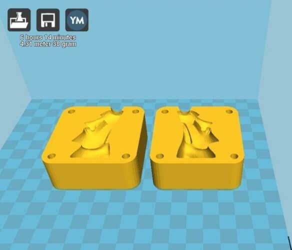 آموزش قالب شمع با پرینت سه بعدی