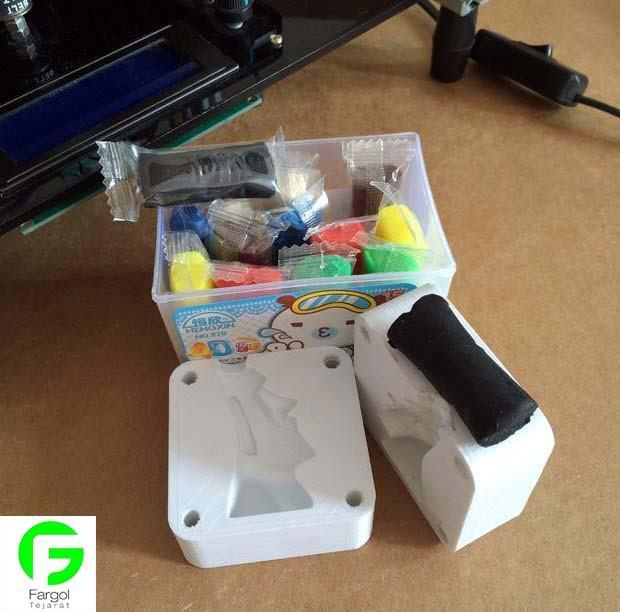 آموزش ساخت قالب شمع با پرینت سه بعدی