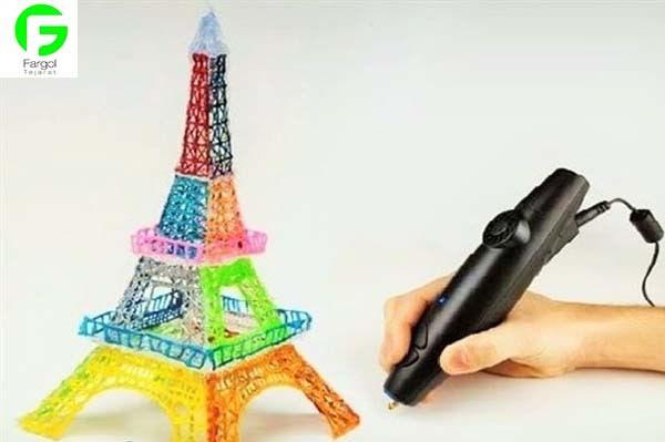 مداد سه بعدی با پرینت سه بعدی