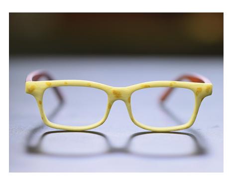 ساخت عینک توسط پرینتر سه بعدی سی ان سی رو میزی