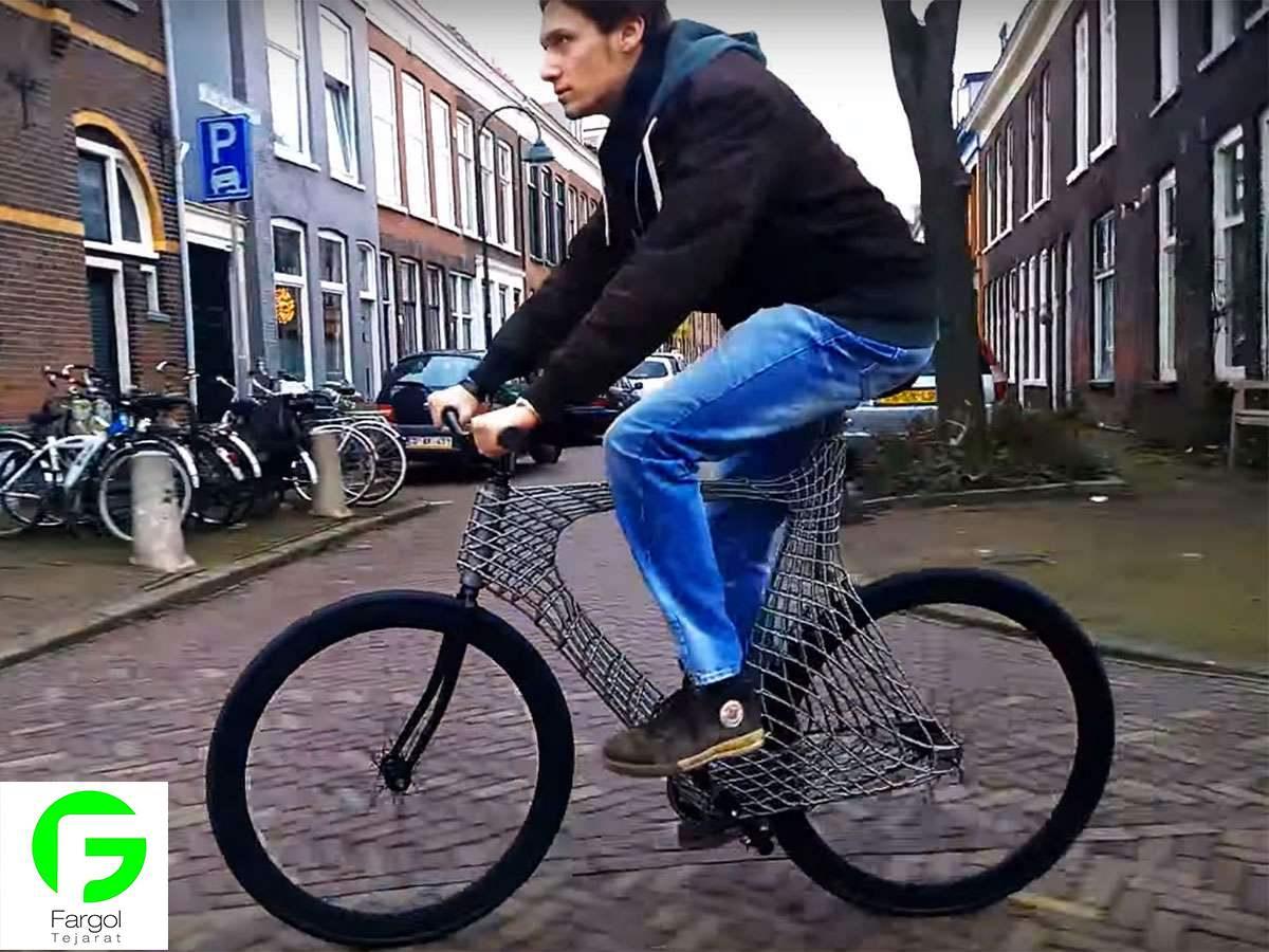خرید و فروش پرینتر سه بعدی :فرگل سی ان سی دو1 پرینت سه بعدی دوچرخه Arc Bicycle پرینتر سه بعدی  ساخت دوچرخه توسط پرینتر سه بعدی ساخت دوچرخه باپرینتر سه بعدی پرینت سه بعدی دوچرخه Arc Bicycle
