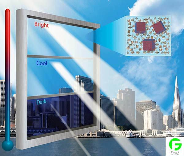 ساخت پنجره هوشمند در برابر نور با پرینتر سه بعدی کیت پرینتر سه بعدی