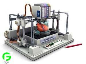 پرینتر سه بعدی قطعات قلب پرینتر ها ی سه بعدی