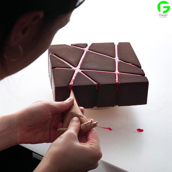 تولید کیک و شیرینی توسط پرینتر سه بعدی