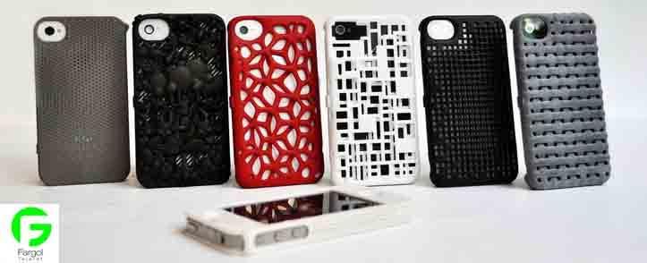 پنج منبع پرینت سه بعدی قاب گوشی موبایل سی ان سی رو میزی