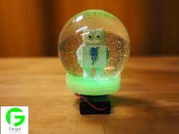 گوی برفی شیشه ای با پرینتر سه بعدی