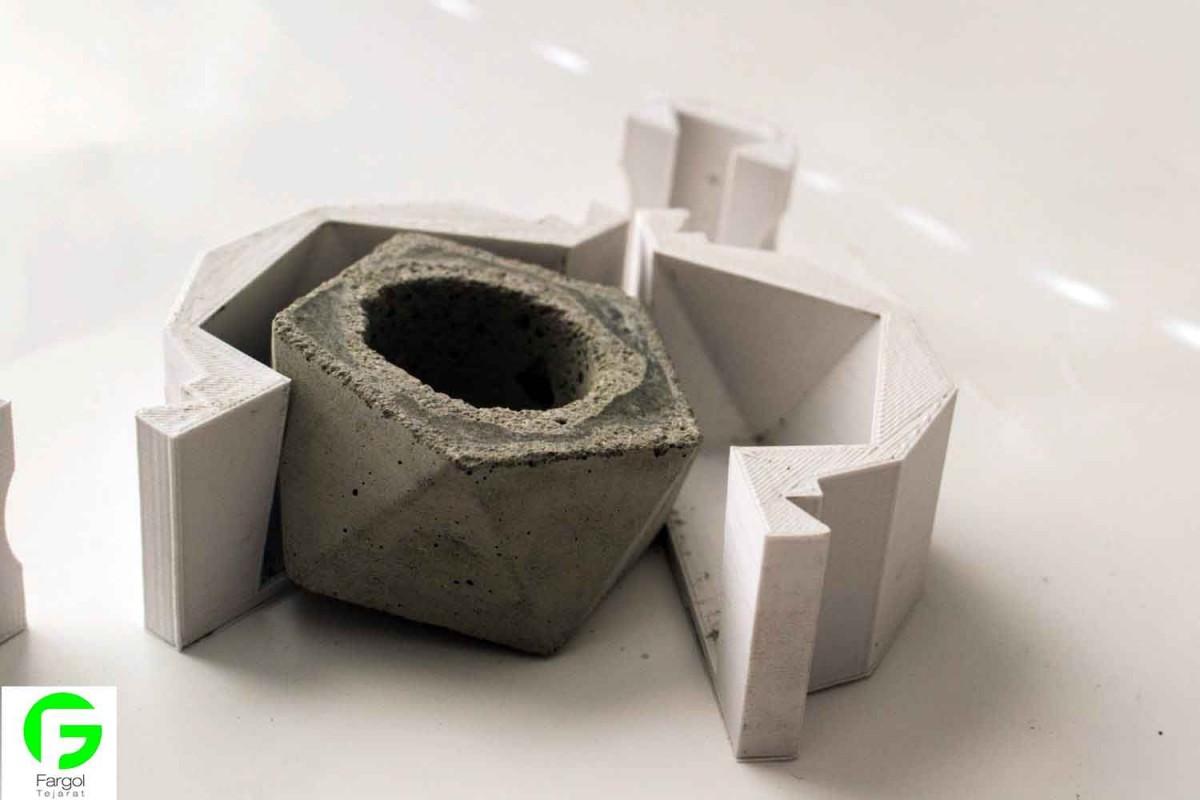 گلدان کرک دار با پرینت سه بعدی پرینتر های سه بعدی