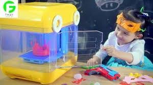 ساخت پرینترهای سه بعدی مخصوص کودکان