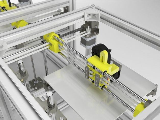 کیت پرینتر سه بعدی هایپر کیوب