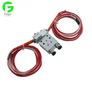 3d printer accessories E3D headed extrusion head V5V6 the new double-headed square head extruder nozzle