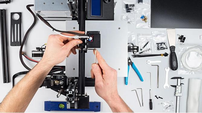 تعمیر و نگهداری پرینتر سه بعدی