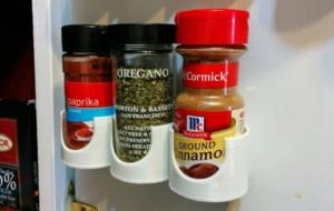 Customizable Spice Rack