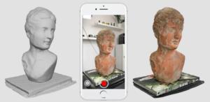 phone as a 3D scanner
